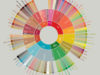 Coffee taster flavor wheel according to SCAA