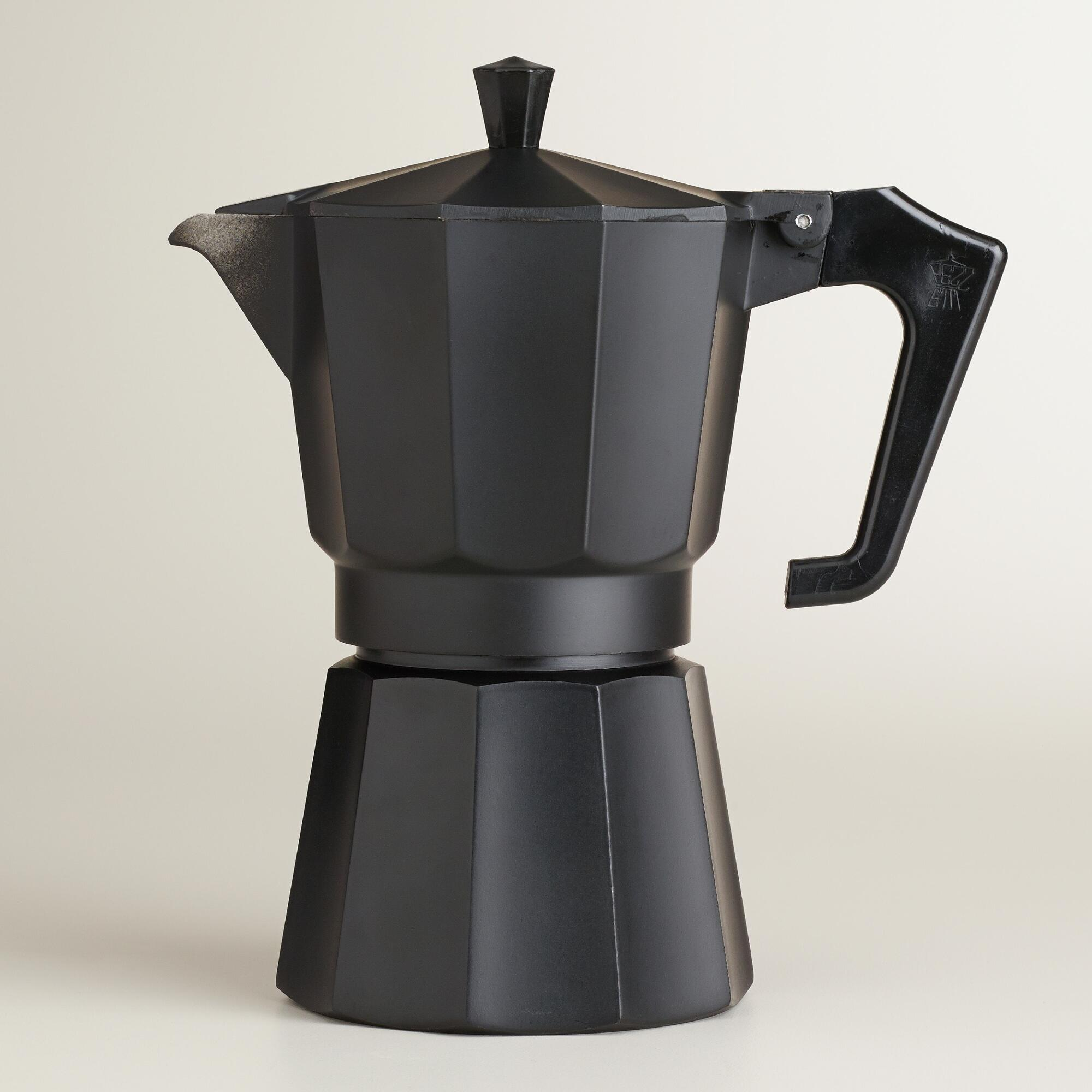 How to brew coffee using a Moka Pot video
