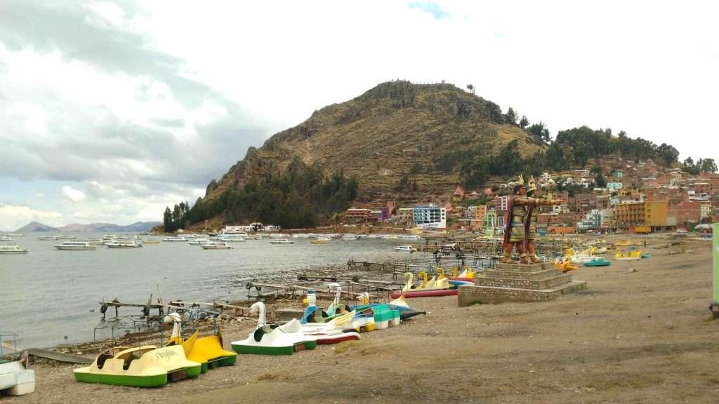 Bolivia Copacabana Lake Titicaca
