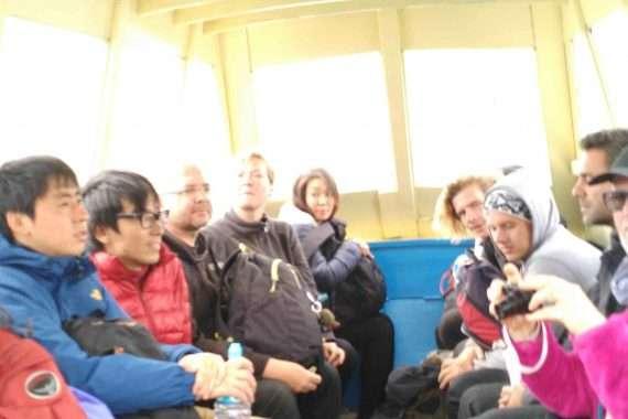 Bolivia getting to Copacabana crossing Lake Titicaca