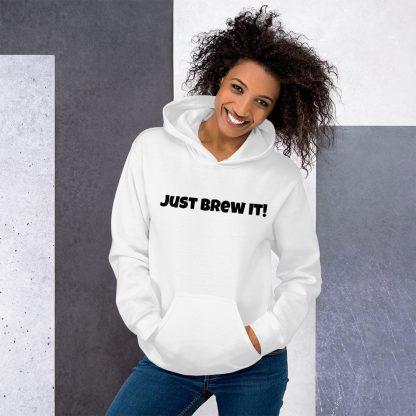 Just brew it coffee sweat shirt