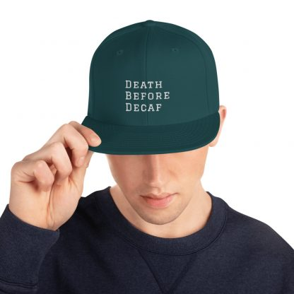 Death Before Decaf hat