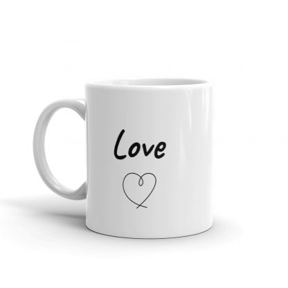 Love Coffee mug cocotu cafe