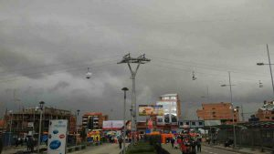 Cable car La Paz, El Alto Bolivia