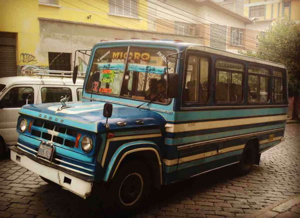Micro Bus La Paz Bolivia