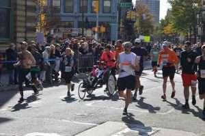 NYC Marathon 2019 running chair