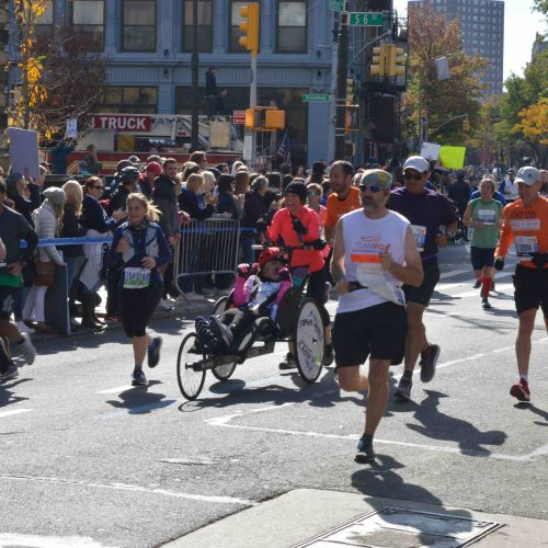 2019 NYC Marathon Photos at Brooklyn
