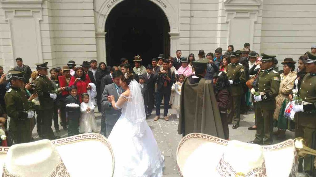 Wedding La Paz Bolivia