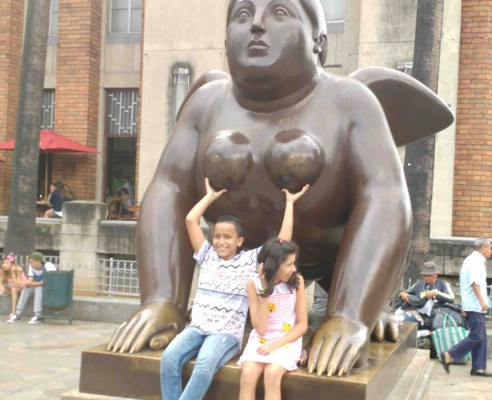 Visit Colombia Medellin Botero Park a must see