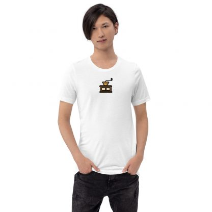 Coffee grinder T-shirt