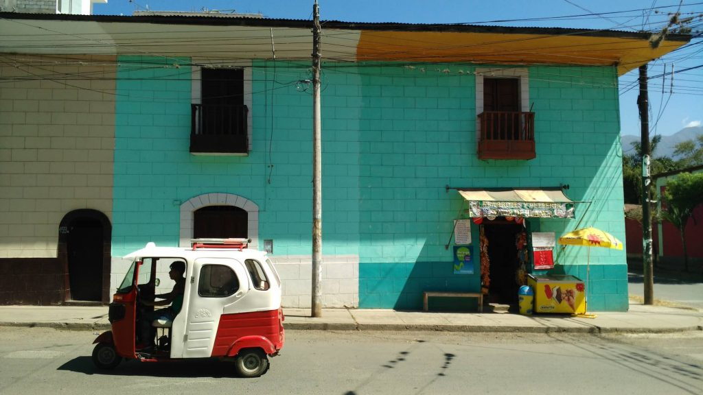 Taxi tricycle Quillabamba Peru