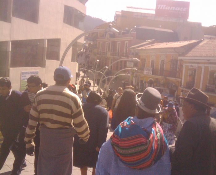 My first visit to La Paz in Bolivia