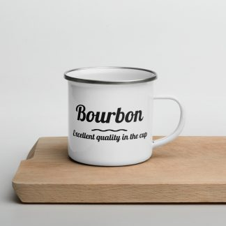 Bourbon coffee variety mug