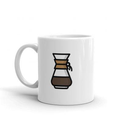 Home barista Chemex coffee mug