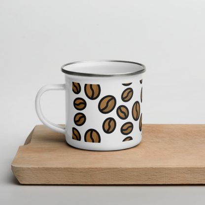 Specialty coffee beans coffee mug