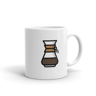 Home barista Chemex coffee mug