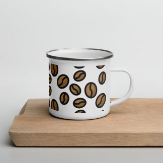 Specialty coffee beans mug