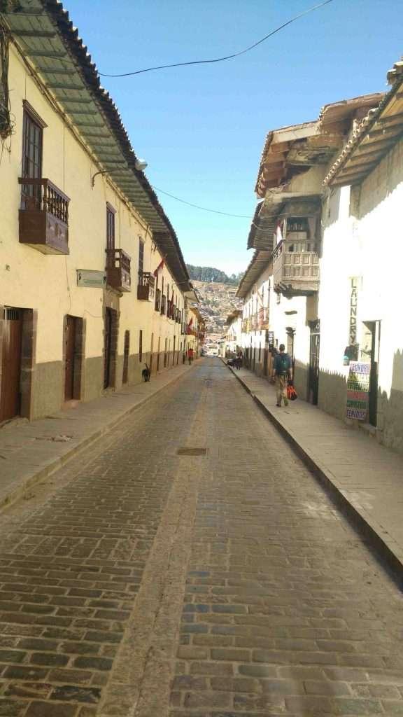 Cusco main traveling destination